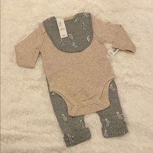 ON 3-Piece Matching Layette Outfit